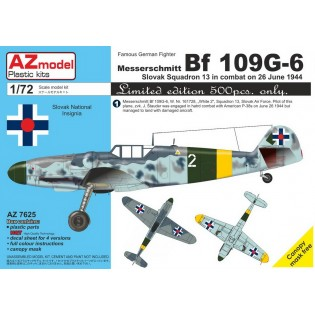 Bf109G-6 Slovak Sq.13, 26 June 1944