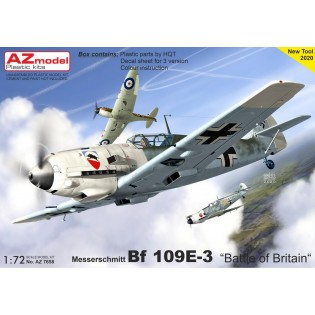 Bf109E-3 Battle of France NEW TOOL