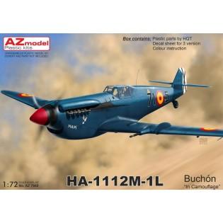 Hispano HA-1112M-1L Buchón NEW TOOL