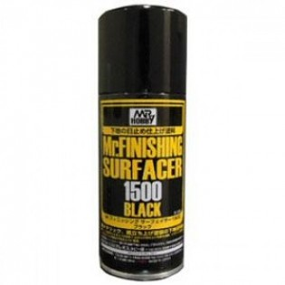 Mr. Finishing Surfacer Black 1500, 170 ml aerosol
