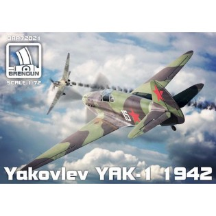 Yak-1 mod. 1942