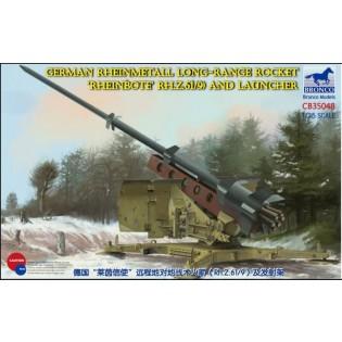 Rheinmetall Long-Range Rocket (Rheinbote RH.Z.61/9) and Launcher