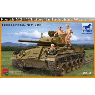 M24 Chaffee, French in Indochina
