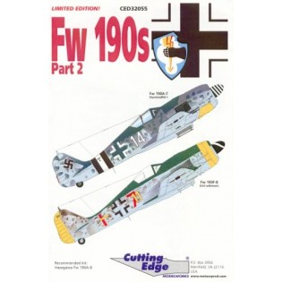 Fw-190A-7 and Fw-190F-8 decal part 2