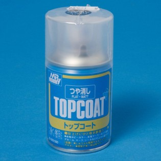 Klarlack, matt, 86 ml TOP COAT aerosol