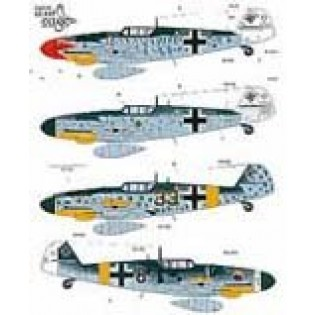 Bf109G-6s JG50 and JG303