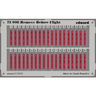 Remove Before Flight flags
