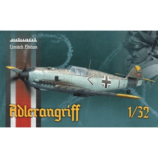 ADLERANGRIFF Limited edition kit Bf109E 1/32