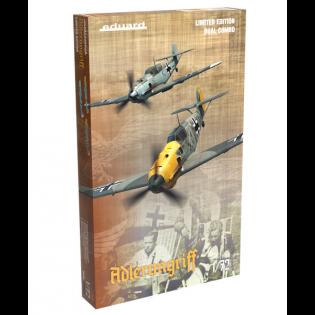 ADLERANGRIFF Limited edition kit Bf109E 1/72 x 2