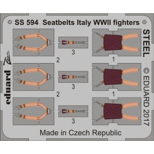 Seatbelts Italian WWII STEEL