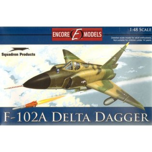 Convair F-102A Delta Dagger EXTRA DETAILED