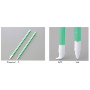 Spare tips Foam Swab Standard Hard Type x 3