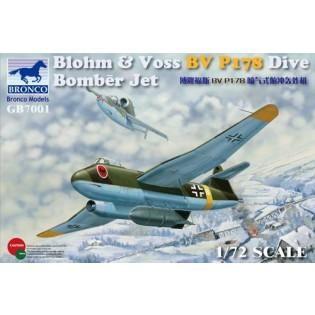 Blohm & Voss BV P178 Dive Bomber Jet