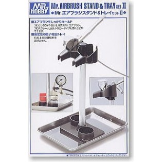 Mr.Airbrush Stand & Tray set II