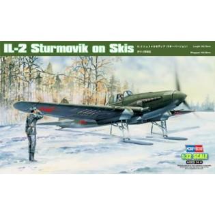 Ilyushin Il-2 with skis