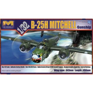 B-25H Mitchell, Gunship