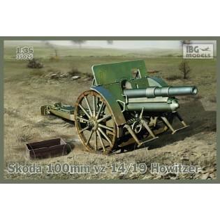 Skoda 100mm vz 14/19 Howitzer incl. optional metal barrel