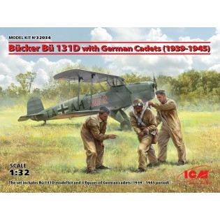 Bucker Bu131D with German Cadets (1939-1945) LIMITED EDITION