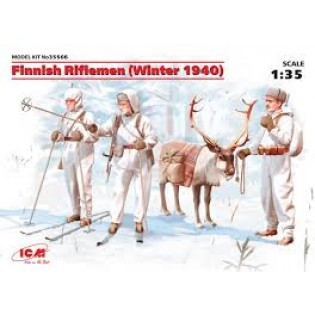 Finnish Riflemen (Winter 1940) (4 figs)