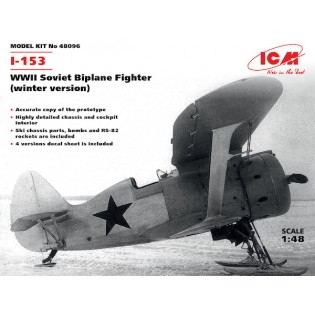Polikarpov I-153 Chaika Winter version