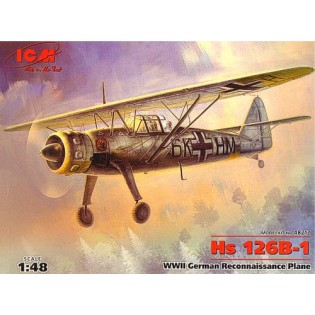Hs126B WWII Reconnaissance plane