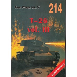 T-26 tanks vol. III - Militaria 214, Polish w. English captions & summary