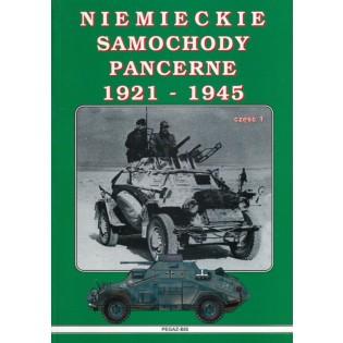Niemieckie Samochody Pancerne (Tyska pansarbilar) 1921-1945, vol 1