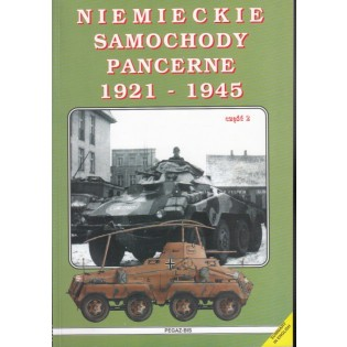 Niemieckie Samochody Pancerne (Tyska pansarbilar) 1921-1945, vol 2