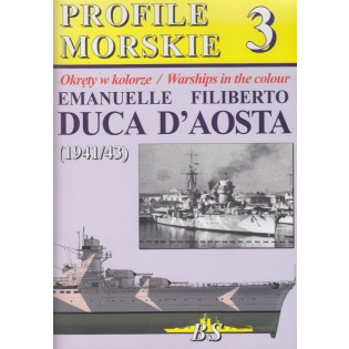 Warships in Color No.3 Duca D'Aosta 1941/43
