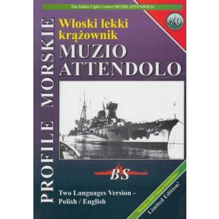Italian light cruiser MUZIO ATTENDOLO