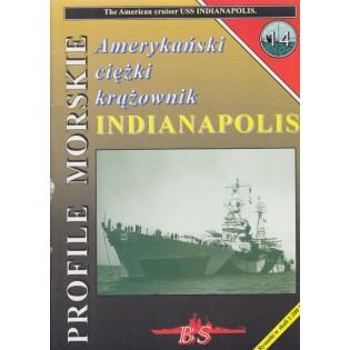 Cruiser USS INDIANAPOLIS (A4)