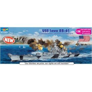 USS Iowa BB-61, 135 cm lång
