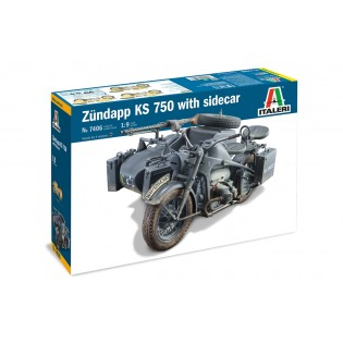 Zundapp KS 750 with Sidecar 1/9 scale