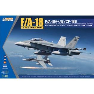 F/A-18A+ / F/A-18B / CF-188 Hornet: Canadian AF, Australian AF, Spanish AF