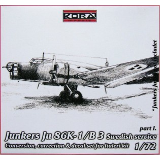 Ju86K-1 SwAF B3 Conversion set part I