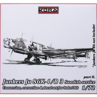 Ju86K-1 SwAF B3 Conversion set part 2