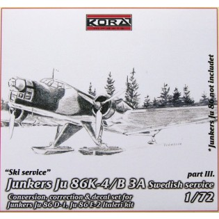 Ju86K-4 SwAF B3A Conversion set part 3
