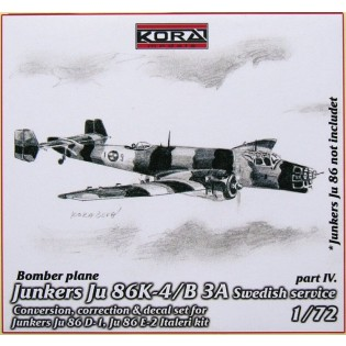 Ju86K-4 SwAF B3A Conversion set part 4