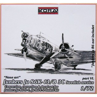 Ju86K-13 SwAF B3C Conversion set part 6