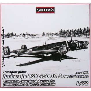 Ju86K-4 SwAF B3C-2 Conversion set part 8