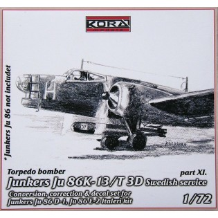 Ju86K-13 SwAF T3D Conversion set part 11