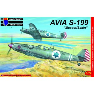 Avia S-199 Messer/Sakin IAF NEW MOULD!