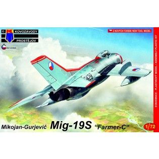 MiG-19S Farmer-C CzAF (NEW MOULD)