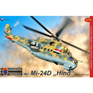 Mil Mi-24D Hind International (Ex Bilek)