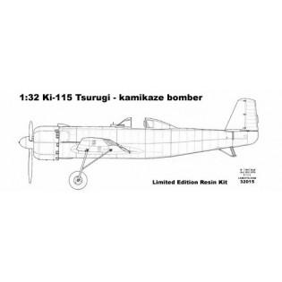 Ki-115 Tsurugi kamikaze bomber
