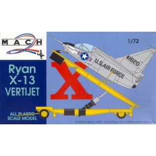 Ryan X-13 vertijet and launch trailer