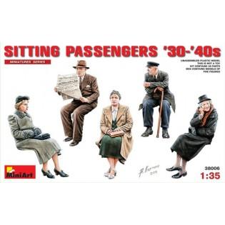 Sitting Passengers 1930s-1940s