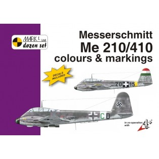 Me210/410 colours & markings incl 1/48 decals
