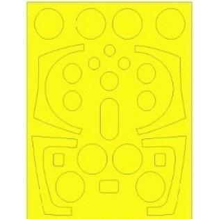 1/32 Viggen canopy mask for Jetmads