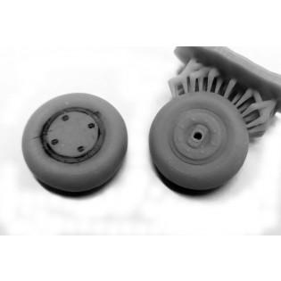 J9 Seversky P-35 hjul 3D print